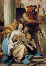 Saint Agatha, by Tiepolo
