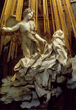 The Ecstacy of St. Teresa, by Gian Lorenzo Bernini